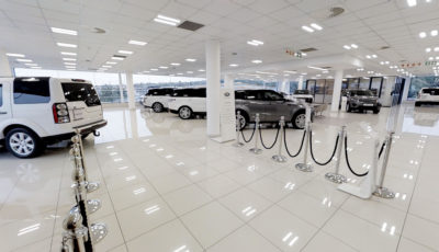 Jaguar Land Rover Menlyn Approved Showroom 3D Model