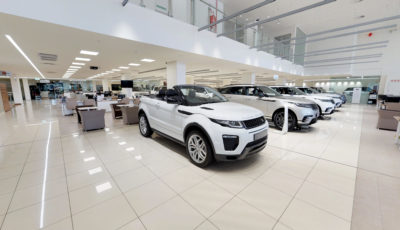 Land Rover Jaguar Sandton Approved 3D Model